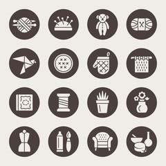 Craft icon set