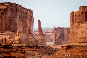 Amazing Scenery at Arches National Park in Utah - travel photography Fototapete