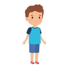 little boy kid character
