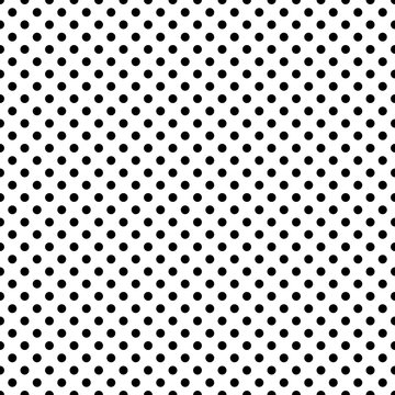 Polka Dots Seamless Pattern - Classic polka dot repeating pattern design