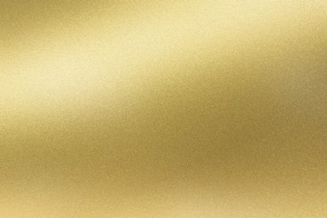 Abstract texture background, light shining on golden stainless wall