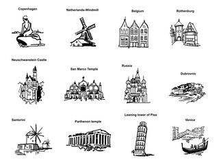ヨーロッパの観光地-ピクト