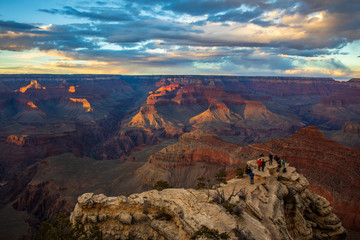 Wall Mural - Sunset at Grand Canyon National Park, South Rim, Arizona, USA
