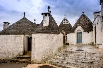 Foto op Plexiglas Historisch geb. Antique italian house Trulli, Alberobello, Puglia - Italy