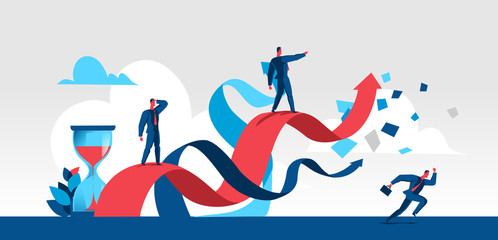 Fototapeta Salesforce is looking for business opportunities obraz
