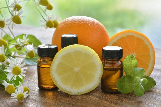 アロマオイル カモミール レモン オレンジ