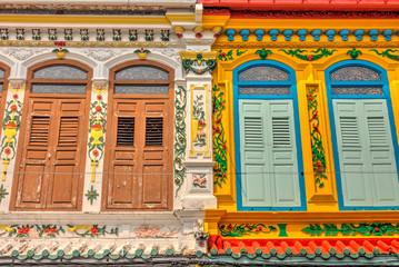 Wall Mural - Chinatown in Malacca, Malaysia