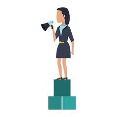 Executive businesswoman avatar