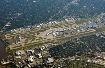 Dallas Love Field aerial view