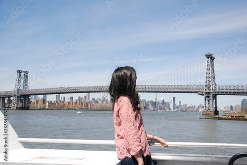 NYC Ferry Ride Candid