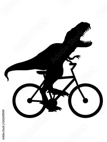 Fahrrad Tyrannus Saurus Rex Sport T Rex Dinosaurier Dino Saurier