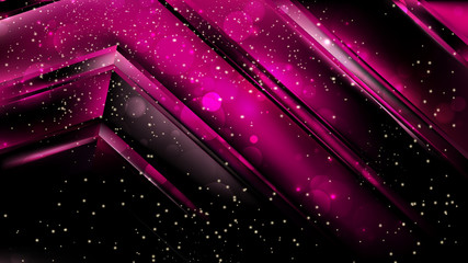Obraz Abstract Cool Pink Bokeh Background Vector - fototapety do salonu
