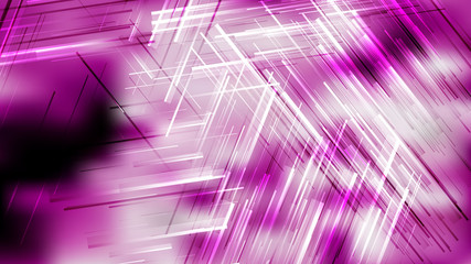 Wall Mural - Purple Black and White Random Lines Abstract Background Design