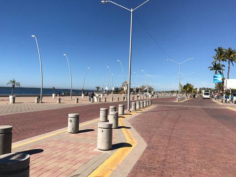 El Tata Beach in Sinaloa Mexico