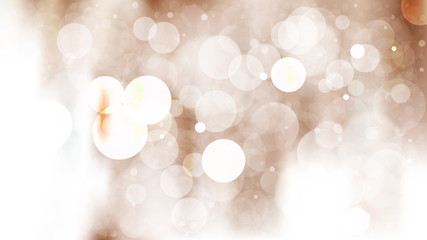 Brown and White Blur Lights Background
