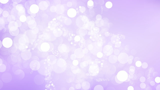 Purple and White Blur Lights Background Vector Graphic
