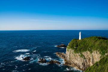 Wall Mural - 足摺岬と灯台