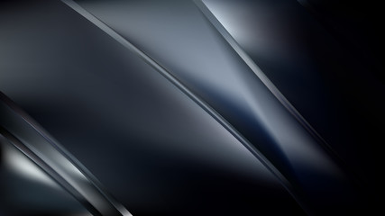 Wall Mural - Abstract Black and Grey Diagonal Shiny Lines Background