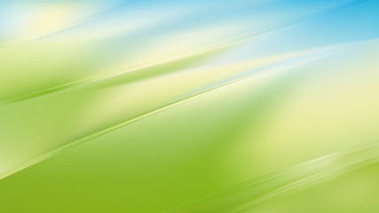 Wall Mural - Abstract Blue Green and White Diagonal Shiny Lines Background