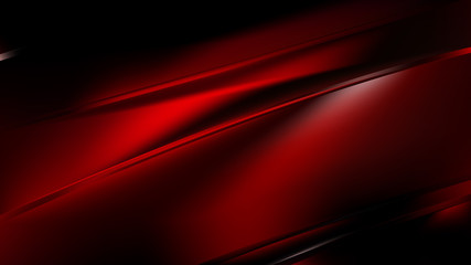 Wall Mural - Abstract Cool Red Diagonal Shiny Lines Background