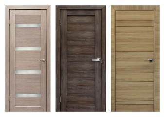 Set of entrance doors (Interior wooden doors)