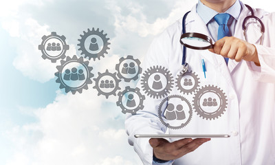 Doctor and teamwork process