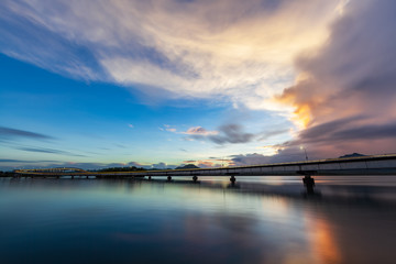 San Juanico Bridge by daylight
