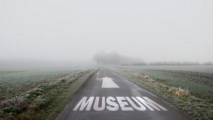Schild 402 - Museum