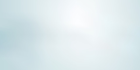 Obraz Abstract light blue blurred background horizontal panoramic web banner. - fototapety do salonu
