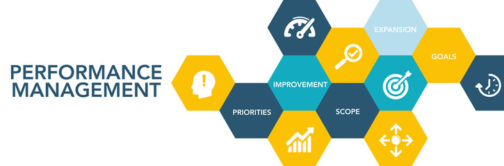 Performance Management Icon Concept