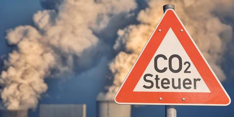 Schild CO2-Steuer