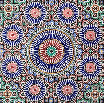 Moroccan Tiles. Marrakech