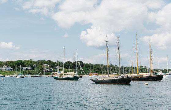Edgartown Harbor on Martha's Vineyard