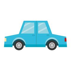 Foto auf Leinwand Cartoon cars car vehicle icon