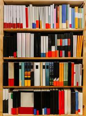 Shelving full of books