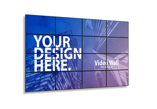 Screen Wall Mockup