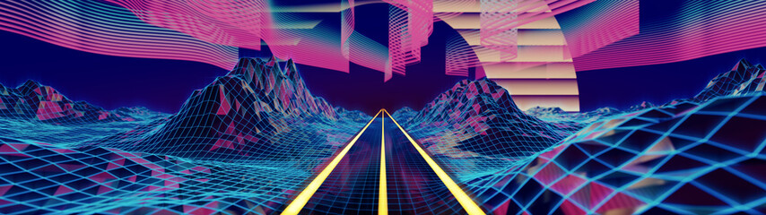 A road into the cyber neverlands
