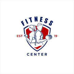 Fitness Logo Vectors.gym,fitness,and Crossfit logo . fitness center logo