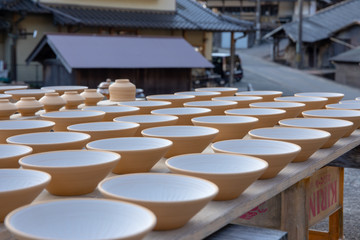 Pottery Drying Outdoors