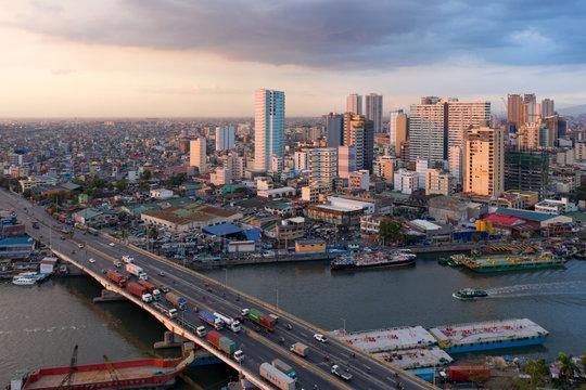 Vue sur Manille