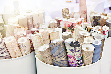 Rolls of wallpaper Wall mural