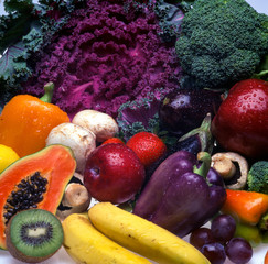 Mix Vegetables and Fruits