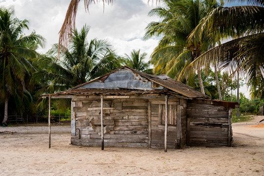 Cuban house on the beach