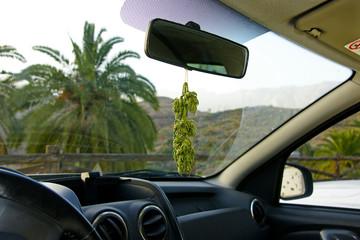 Cannabis Duftbäumchen 1