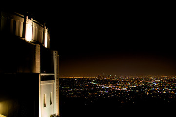 Griffin Park Observatory at night