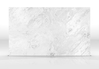 White marble Tile texture Wall mural