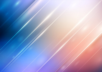 Abstract gradient background with lighting