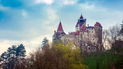 Keuken foto achterwand Kasteel Bran castle in Romania, Transylvania. Dracula based landmark