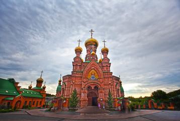 Wall Murals Kiev Kiev, Ukraine. Goloseevo monastery church