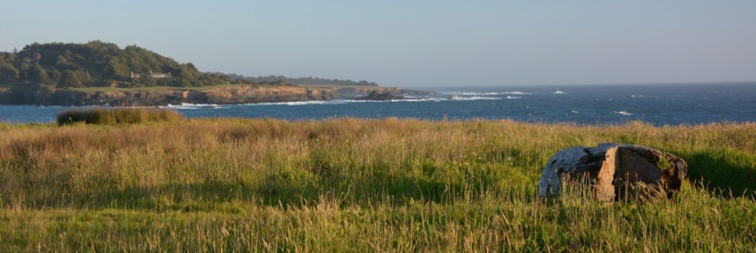 Coastal Impressions from Mendocino from April 28, 2017, California USA